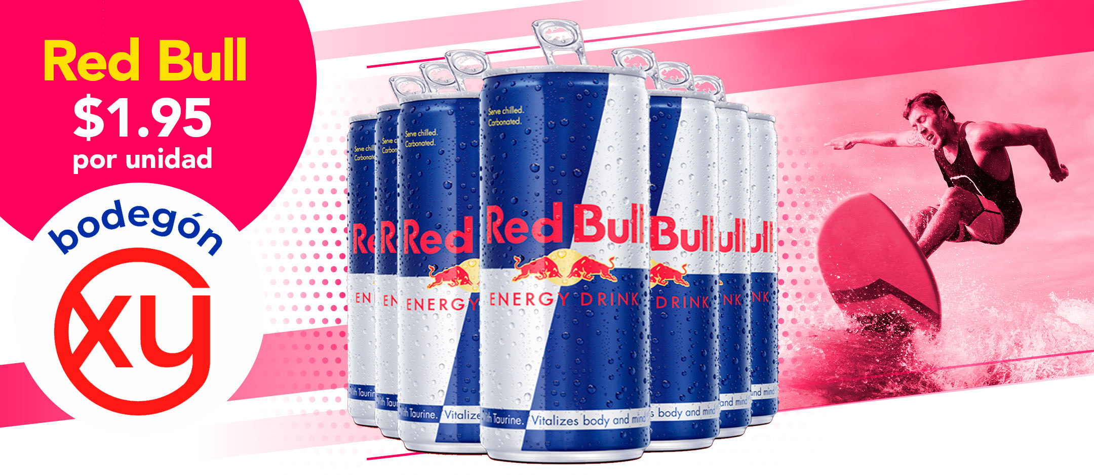 Bodegon XY red bull