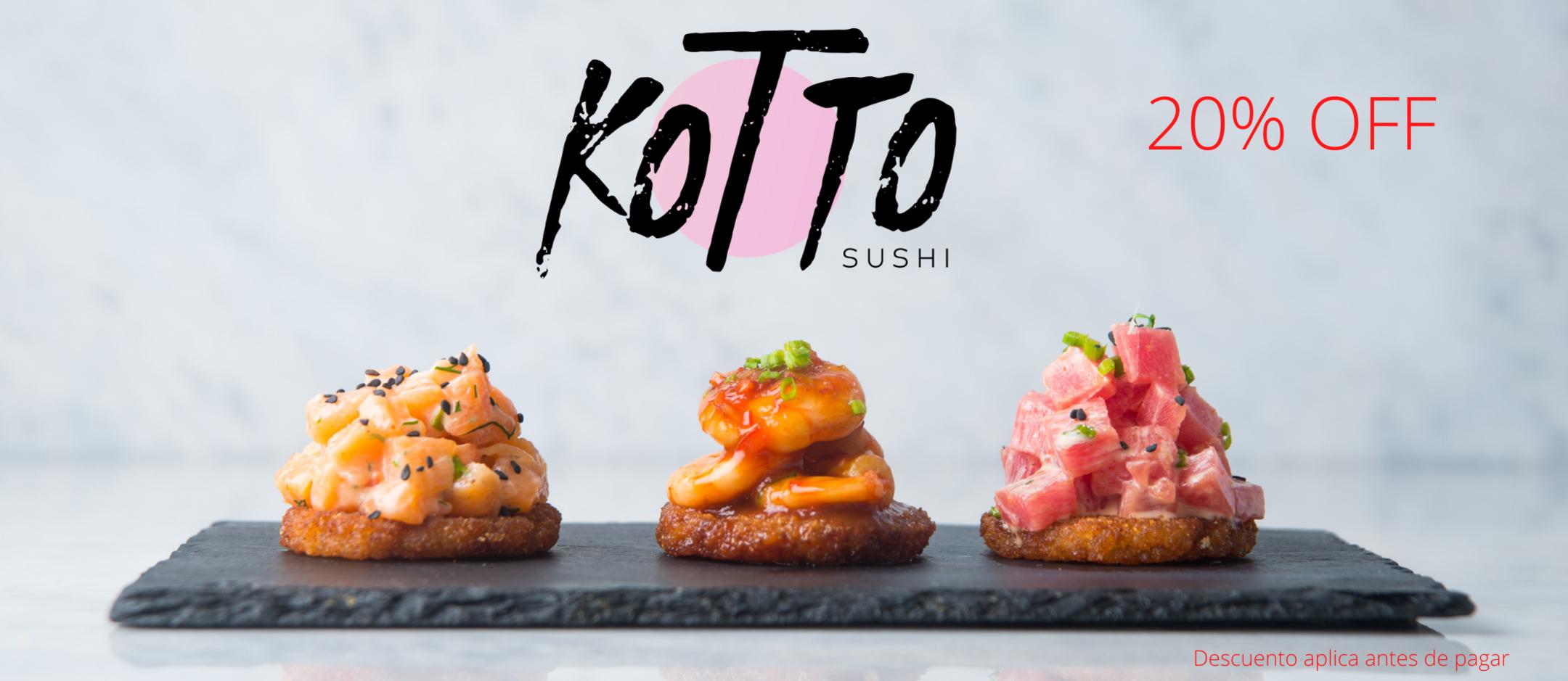Promo Kotto Sushi - El Hatillo